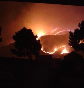 Onrus fire 2 Jan 2015